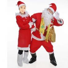 供应圣诞老人服装数码印花免费印花打样