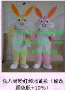 济南销售租赁卡通兔子服装人偶道具图片