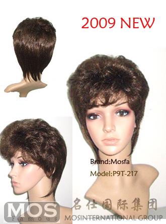 女性假发/真发织发/中老年假发