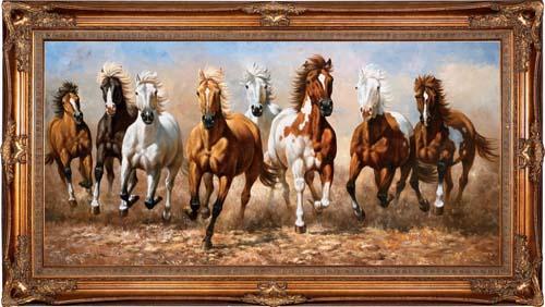 装饰油画动物油画价格