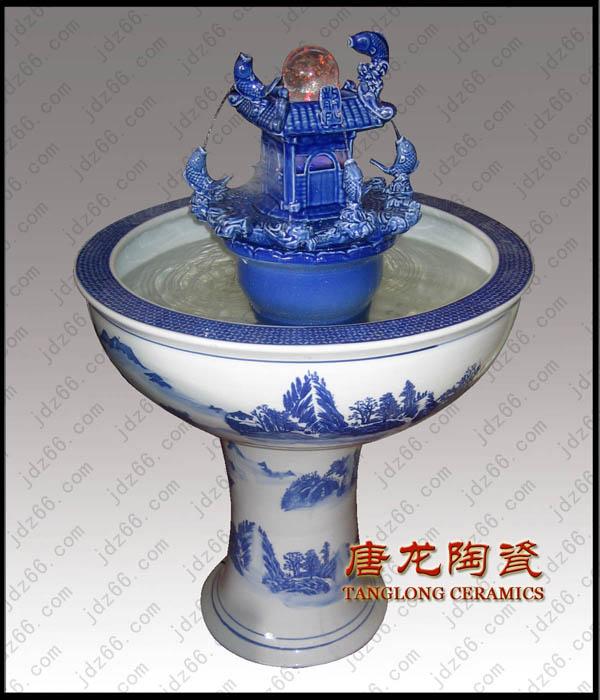 景德镇陶瓷喷泉加湿器陶瓷喷雾加湿图片/景德镇陶瓷喷泉加湿器陶瓷喷雾加湿样板图