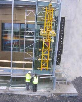 供应租用吊篮安装玻璃幕墙维修