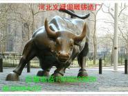 城市雕塑铜牛图片