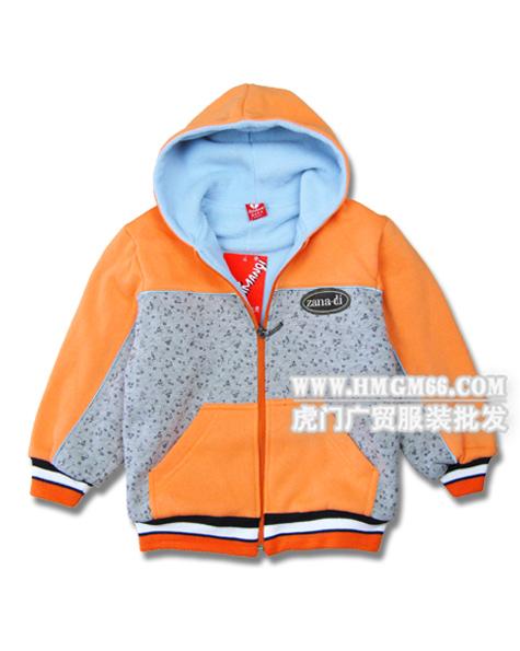 儿童服装批发秋冬季儿童加厚外套批发便宜保暖的儿童