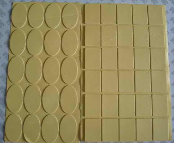 供应背胶回力胶垫带胶回力胶垫