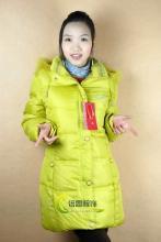 供应中长款羽绒服批发广东虎门厂家批发韩国风情时尚风格韩版风衣外套