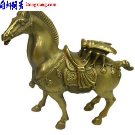 供应铜马上蝇-动物铜像-铜像批发图片