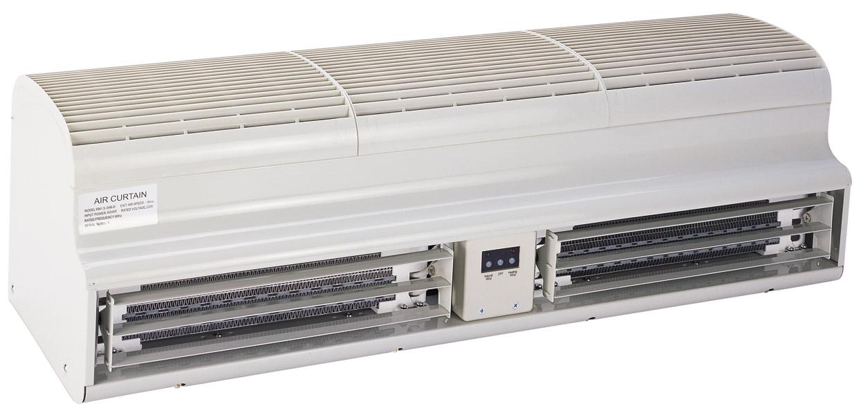 供应名牌电热风幕机