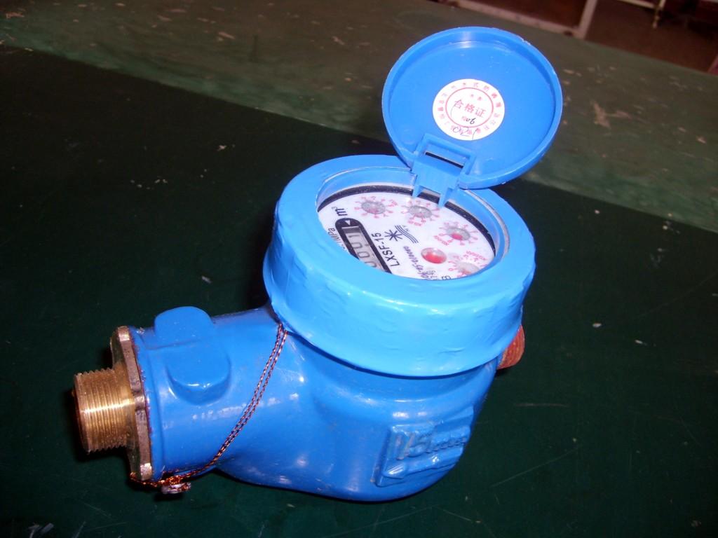 水表图片 水表样板图 节水防滴漏水表 辽宁水表销售公司