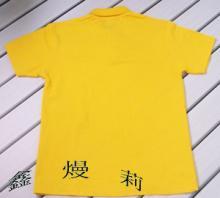 供应翻领衫制做-社团衫-空白广告衫