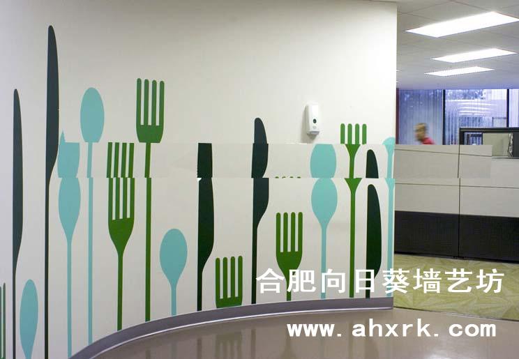 墙绘合肥向日葵彩图片