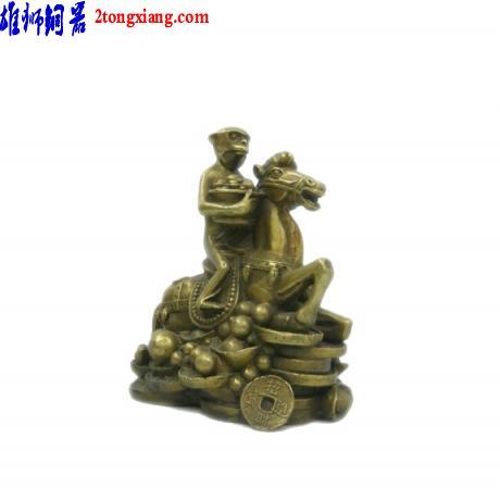 供应铜取经成佛-铜像制作-铜像批发图片