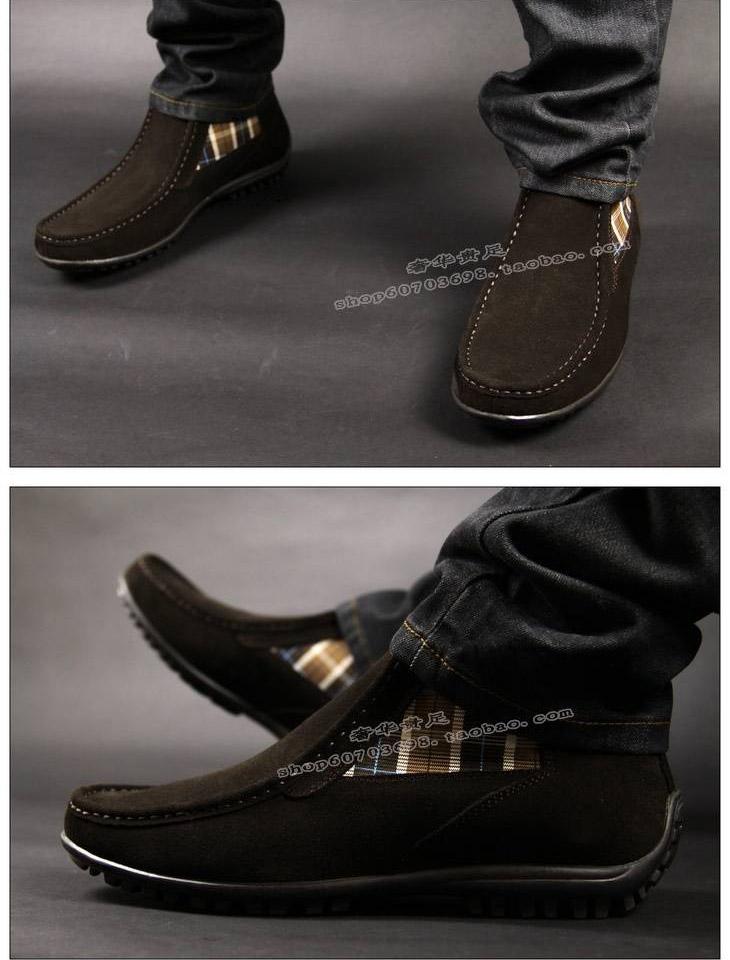 男皮鞋图片|男皮鞋样板图|prada男靴/高帮休闲男皮鞋