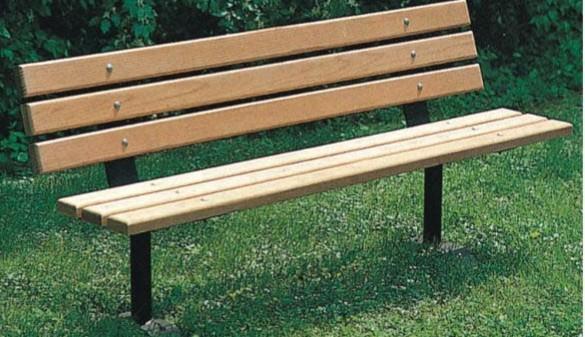 供应樟子松防腐木休闲座椅