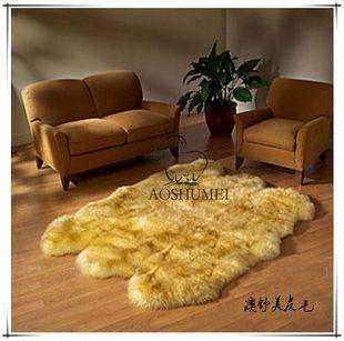 客厅地毯金黄6P