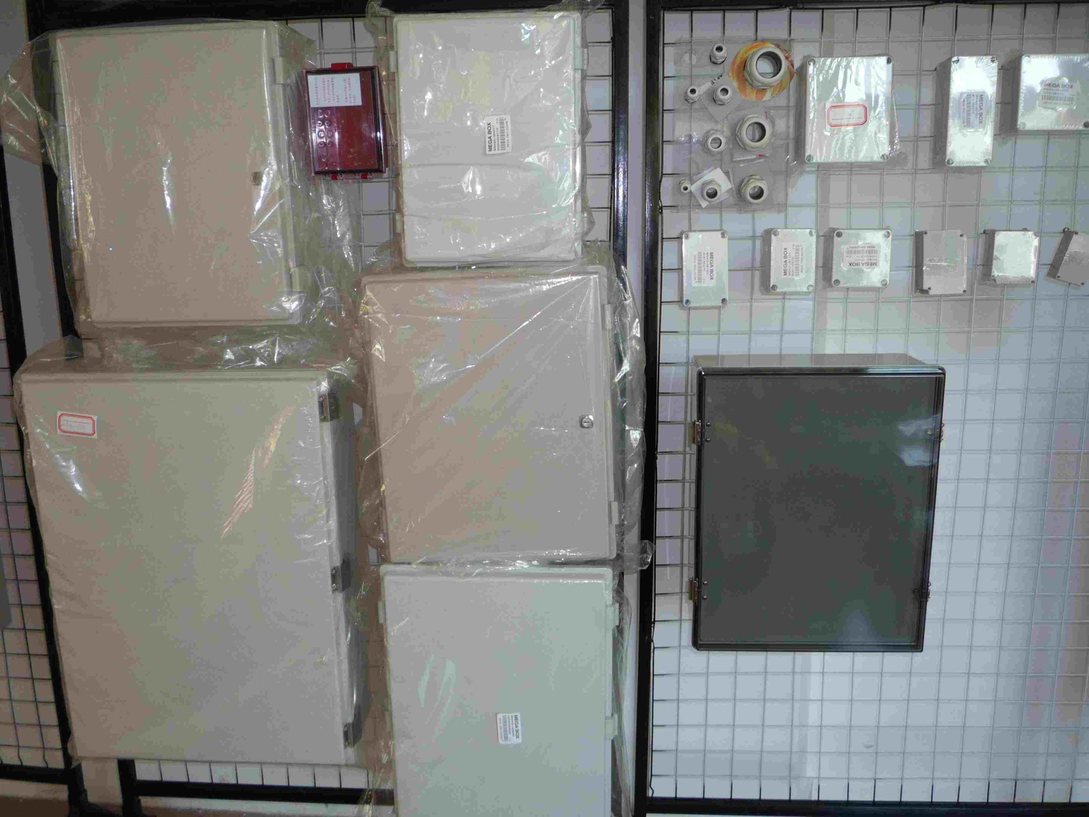 韩国配电柜接线实物图