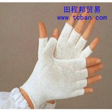 供应针织尼龙半指手套
