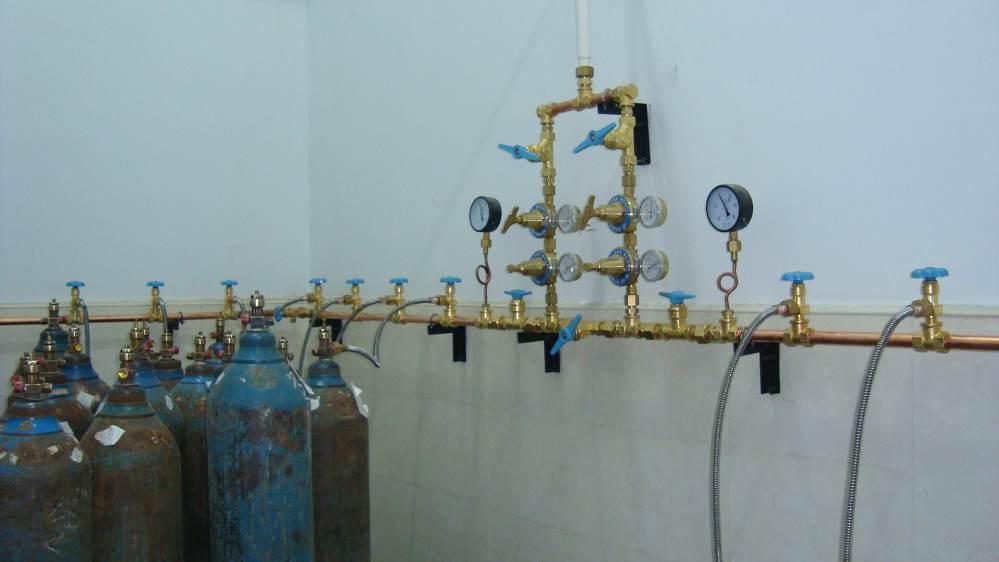 供应工业气体汇流排工业气体汇流排