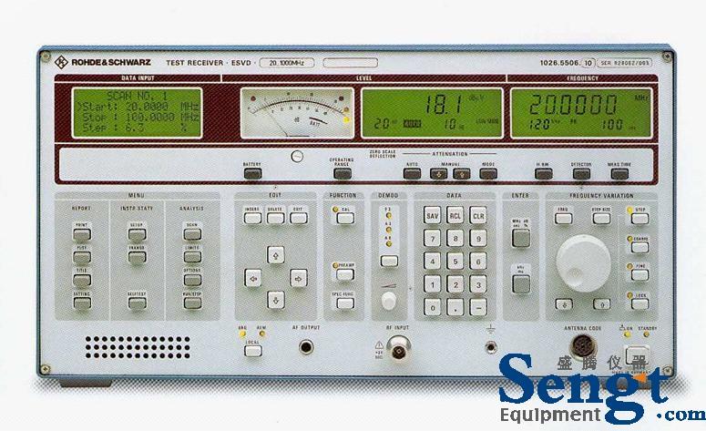 供应ESVD二手EMI接收机 RS_EMI测试仪