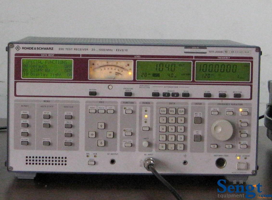 供应二手ESHS30 RS二手EMI接收机
