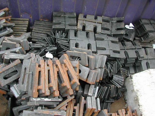 供应钢轨配件图片