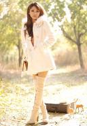 时尚韩版女装呢子大衣棉衣羽绒图片