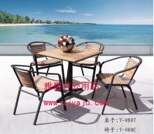 供应休闲家具,雅居家具厂批发户外家具,铝木桌椅