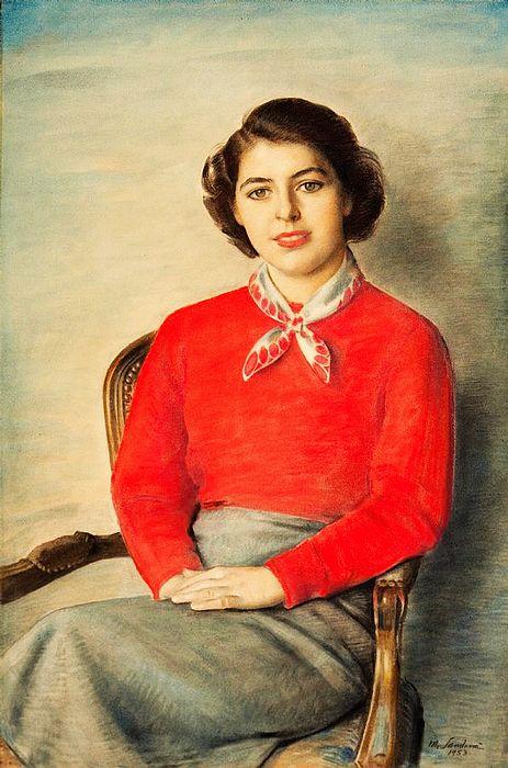 长期供应定做手绘肖像油画