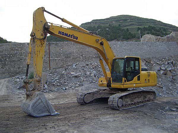 小松200-7挖掘机图片/小松200-7挖掘机样板图