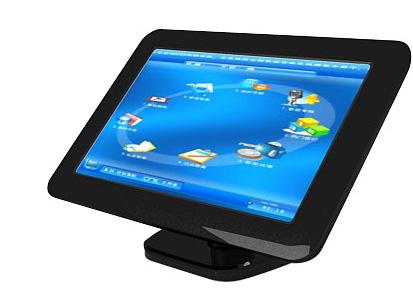 优冠 19寸触摸屏 显示器 点歌台 桌面支架