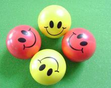 供应PU笑脸球,PU球,PU健身球
