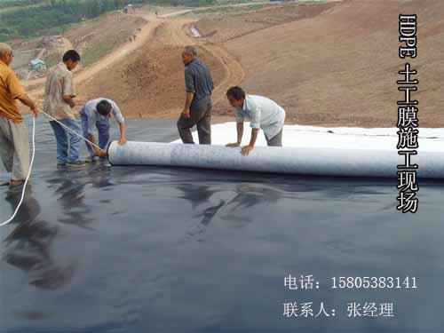 黄鳝养殖专用防水环保HDPE土工膜