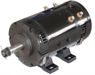 48V轨道车摆线针轮减速电机图片