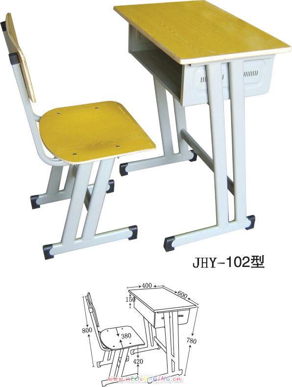 学生椅子手绘三视图