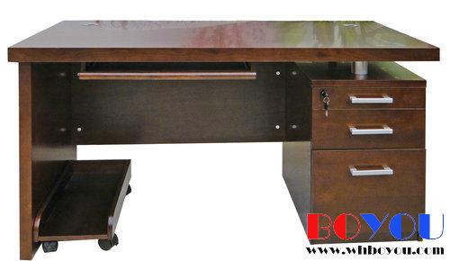 实木办公桌图片|实木办公桌样板图|实木办公桌效果图