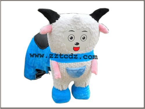 供应喜洋洋电动动物儿童电动动物游戏机