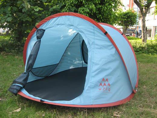 供应自动折叠帐篷图片