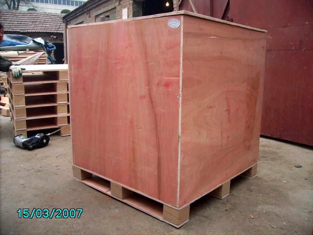 供应济南价格最低出口免熏蒸木包装箱