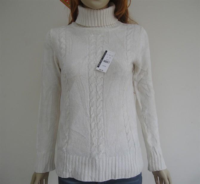 供应时尚冬装外套女士毛衣韩版毛衣外套