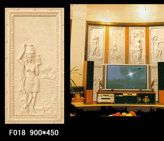古典欧式浮雕背景墙
