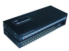 中腾电子厂家供应16路有源接收双绞线传输器