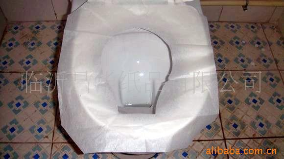 供应再生浆马桶坐垫纸图片