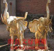 铜大象铸铜大象厂家图片