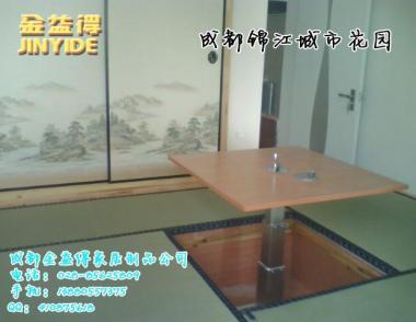 榻榻米手动小铝壳升降桌图片/榻榻米手动小铝壳升降桌样板图 (2)