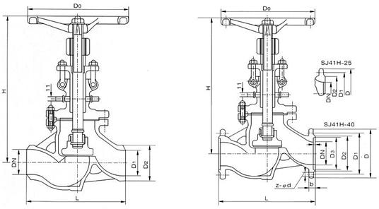 供应焊接式水封截止阀
