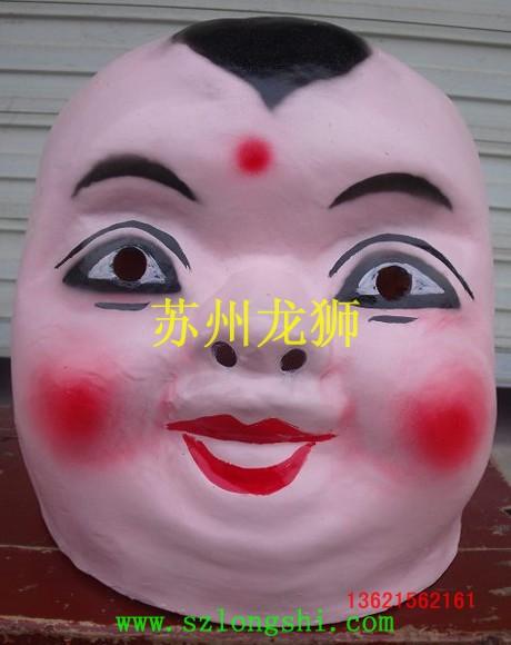 可爱的大头娃娃