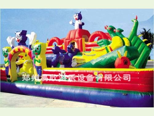供应儿童充气城堡价格充气气模玩具充气跳跳床价格