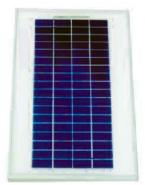 多晶11W太阳能电池板图片