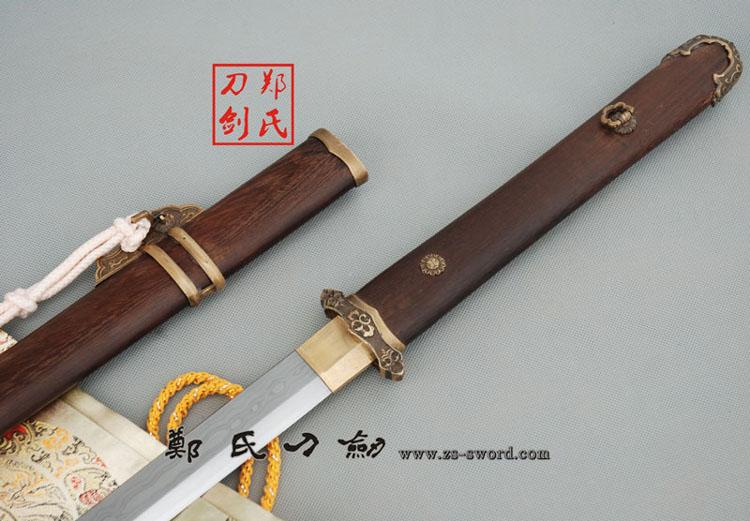 花纹钢刀剑