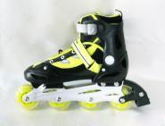 菲莱英全闪钢板溜冰鞋图片
